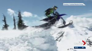 Cochrane X Games athlete lands world's 1st snowbike BASE jump
